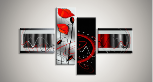 Модульные Цветы 14