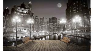 Фотоoбои Ночные города 1