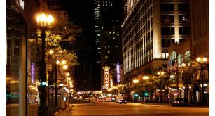 Фотоoбои Ночные города 43
