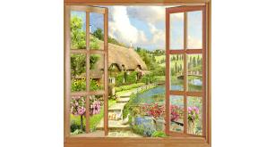 Фотоoбои Вид из окна 53