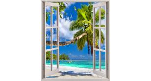 Фотоoбои Вид из окна 54