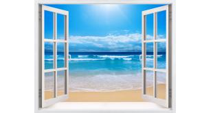 Фотоoбои Вид из окна 56
