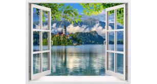 Фотоoбои Вид из окна 57