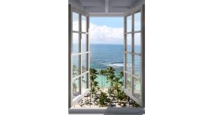 Фотоoбои Вид из окна 67