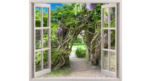 Фотоoбои Вид из окна 15