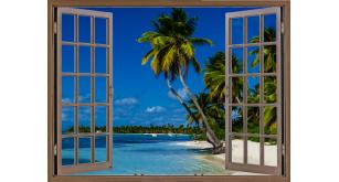 Фотоoбои Вид из окна 21