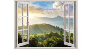 Фотоoбои Вид из окна 25