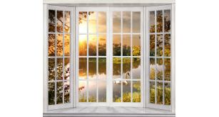 Фотоoбои Вид из окна 28