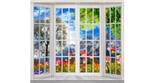 Фотоoбои Вид из окна 35