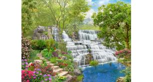 Фотоoбои Водопады 47 (Р-45)