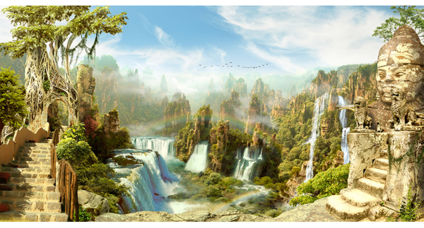 Водопады 50