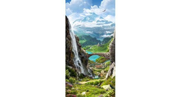 Водопады 56