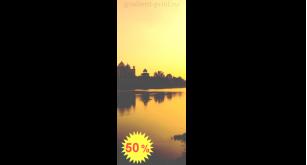 Фотообои - Закат в Индии