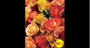 Фотообои - Яркие розы