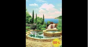 Фреска - Средиземноморский дворик